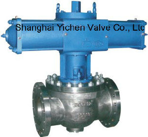 Pneumatic Top Entry Trunnion Mounted Ball Valve (SZQ641F) pictures & photos