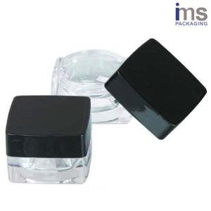 5ml Square Plastic Cosmetic Pot pictures & photos
