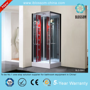 New Arrival Luxury Red Steam Shower Room (BLS-9841) pictures & photos