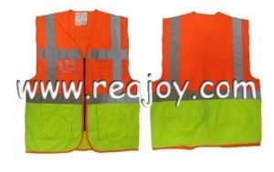 Safety Contrast Reflective Vest