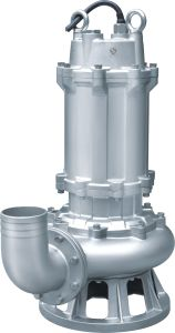 Wq Stainless Steel Casing Submersible Sewage Pump pictures & photos