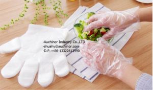 Cheap Transparent Disposable Plastic Individual Packed Gloves pictures & photos