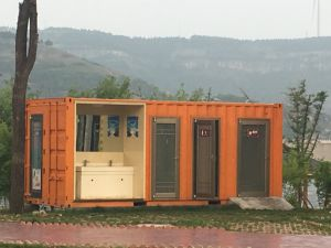 Modular 20 FT Prefabricated Container House for Dormitory (Container Cabin) pictures & photos