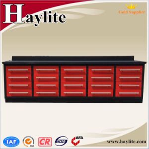 Powder Coating Steel Workbench with Drawers pictures & photos