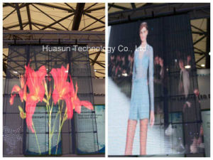 Glass LED Video Wall for Shipping Mall & Store pictures & photos