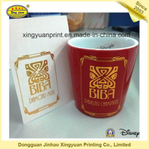 Flower Receptacle and Ceramic Cup Sticker