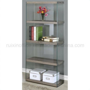 5 Open Display Shelves Featuring Tempered Glass Sides and Stylish (Z160707-4F) pictures & photos