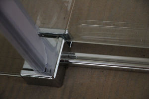 Bathroom 8mm Tempered Glass Sliding Shower Cubicle Door Price pictures & photos