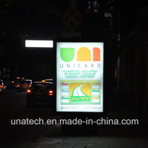 Outdoor Scrolling LED Media Light Box Advertisement Sign pictures & photos