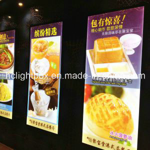LED Acrylic Display Aluminum Light Box for Menu Board pictures & photos