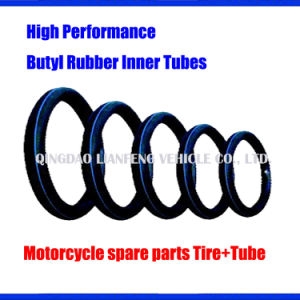 Motorcycle Spare Parts, Butyl Rubber Inner Tube 225-14, 250-14, 275-14, 300-14 pictures & photos