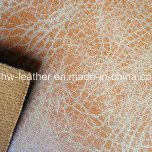 PU Leather for Shoes, Handbag (HW-1540) pictures & photos