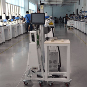 20 Watt Laser Machine with Ear Marking Controlling System for Heat Insulation Plastic Strip pictures & photos