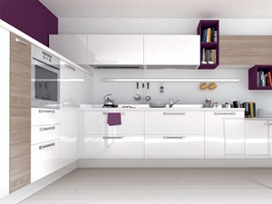2016 Latest Modern Design Custome Made Lacquer Kitchen Cabinets pictures & photos