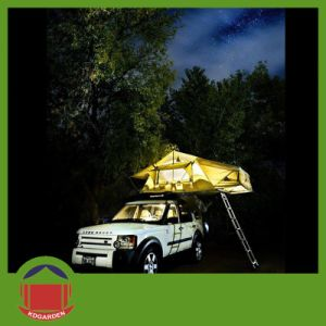 Canvas Top Tent for Car with LED Light pictures & photos