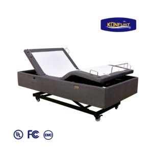 Massage Home Furniture Wallhugger Electric Adjustable Bed Wireless Handset pictures & photos