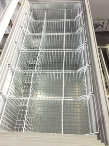 Hot Sale Top Open Glass Door Chest Freezing Showcase (SD-350) pictures & photos