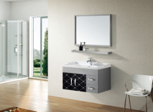 Stainless Steel Style Bathroom Furniture (T-9456) pictures & photos
