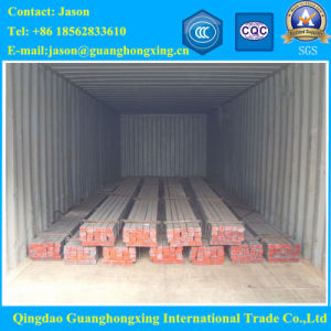 Gbq195, Q235, Q275, JIS Ss400, DIN S235jr, 3sp, 4sp, Hot Rolled Square Steel pictures & photos