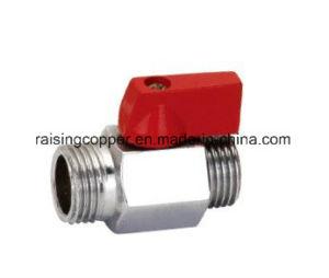 Brass Mini Ball Valve with Aluminium Handle pictures & photos