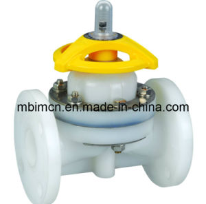 JIS Standard PVDF Diaphragm Valve (G41F-10) pictures & photos