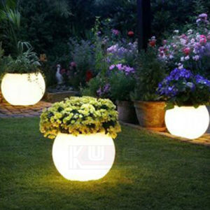 Plastic Planter Pots Illuminated LED Planters pictures & photos