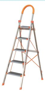CE/En 131 Approved 5 Step Household Ladder with Anti-Slip Step pictures & photos