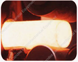 Industrial Electric Induction Heating Forging Furnace for Metal Foundry If-100kw pictures & photos
