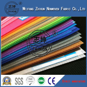Cross Design Nonwoven Fabric for Home Textile pictures & photos