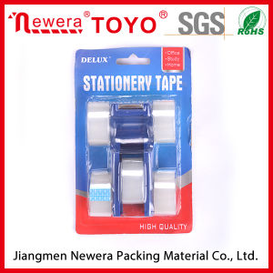 Stationery Sticky Tape with Dispenser pictures & photos