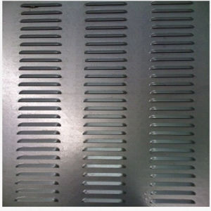 CNC Punching Sheet Steel Shutter pictures & photos