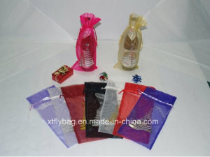 Eco-Friendly Printed Sheer Organza Bag Gift Bag pictures & photos