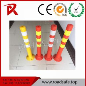 Road Reflective Flexible Delineator Post, Spring Warning Post pictures & photos