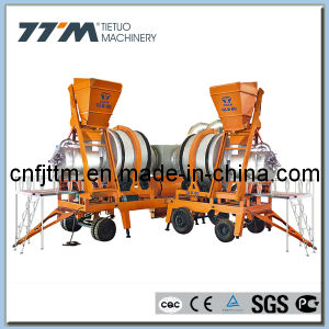 80tph Hot Mix Mobile Asphalt Plant for Road Construction pictures & photos
