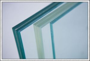 Tempered Laminated Glass with PVB/Sentryglas Film pictures & photos