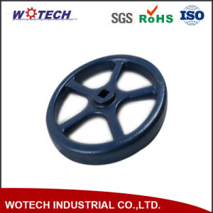 OEM Mechanical Metal Sand Casting with CNC Machining Wheel