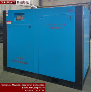 Energy Saving Two Stage Rotary Air Compressor with VFD pictures & photos