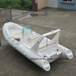 Liya 6.2m Rigid Inflatable Boat in Raft Hypalon Inflatable Boat China pictures & photos
