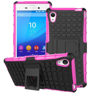 2015 New 3in1 Combo Mobile Cell Stand Phone Cover for Sony Xperia M4