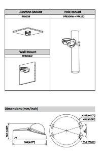 Dahua 2MP IR Mini Dome IP Camera (IPC-HDBW4231F-AS) pictures & photos