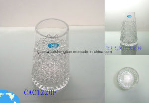 Hand Made Crystal Glass Vase (CAAC1220F) pictures & photos