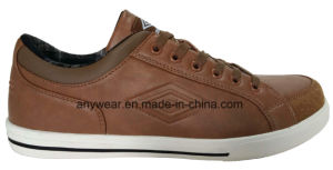 Comfort Leather Footwear Men Leisure Casual Shoes (816-4385) pictures & photos