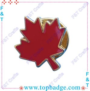 Red Maple Leaf Badge /Lapel Pin (FT1231D) pictures & photos
