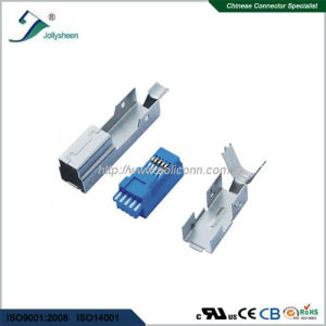 USB3.0 B/Male 3 in 1 Soldering Type pictures & photos