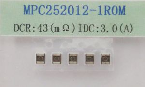 Molding Power Inductor 1.0uh, IDC~3A, Dcr~0.043ohm, Size: 2.5*2.0*1.2mm pictures & photos
