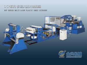 PP/PS/PE Multi Layer Sheet Extruder (DCP105/75-800) pictures & photos