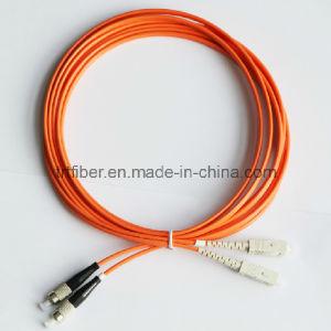 FC/Upc-Sc/Upc Fiber Optic Patch Cords pictures & photos