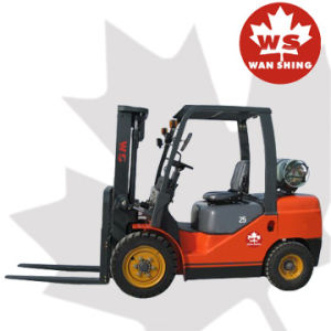 2500kg LPG Forklift with Nissan K21 Engine/Gasoline Forklift pictures & photos