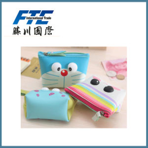 OPP Bag Creative Cute Leather Handhold Women Wallets Coin Purse pictures & photos