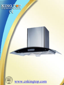 Tempered Glass Panel Chimney Top Suction
